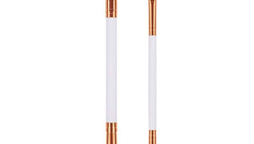 55% Discount for JASSINS Duo Eyebrow Brush Eyelash Comb & Spoolie Brush+Dual Eye Shadow Brush Set