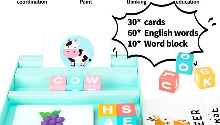 30% Discount for Youwo Alphabets Flash Cards Set