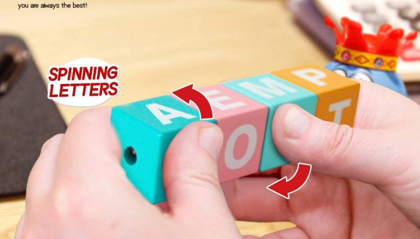 30% Discount for Youwo Montessori Wooden Letter Blocks