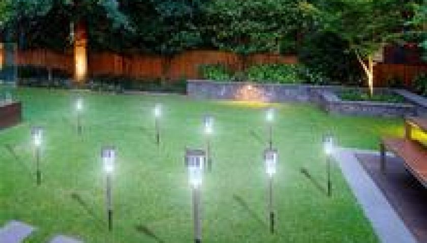 10% Discount for 10pcs 5W High Brightness Solar Power LED Lawn Lamps