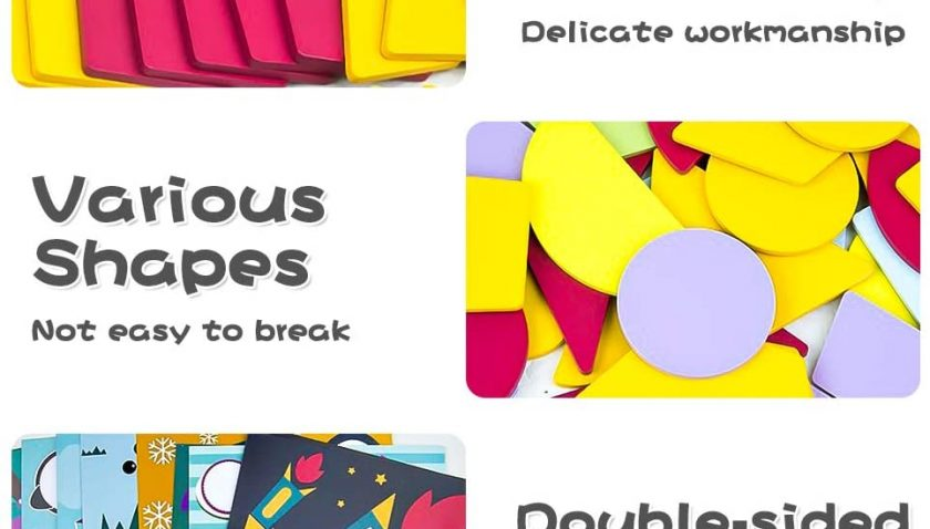 30% Discount for Youwo Wooden Tangram Puzzles
