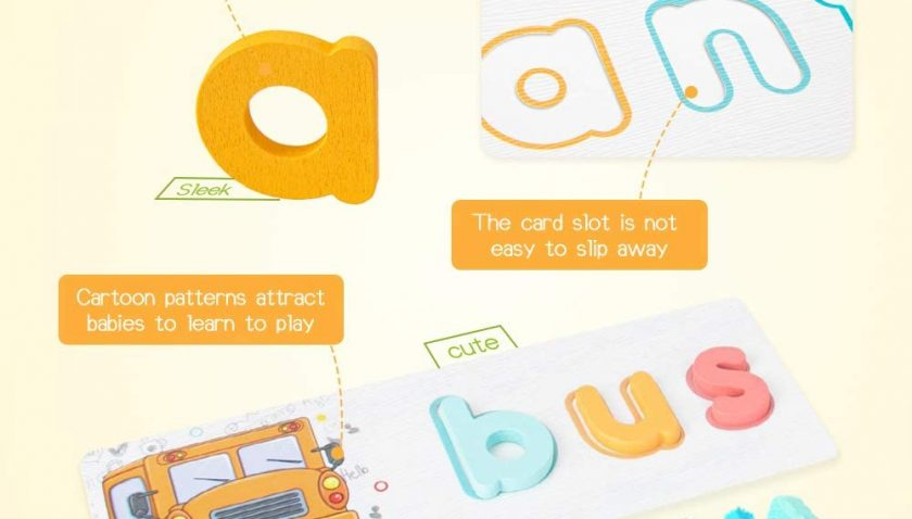 30% discount for Youwo ABC Alphabet Flash Cards