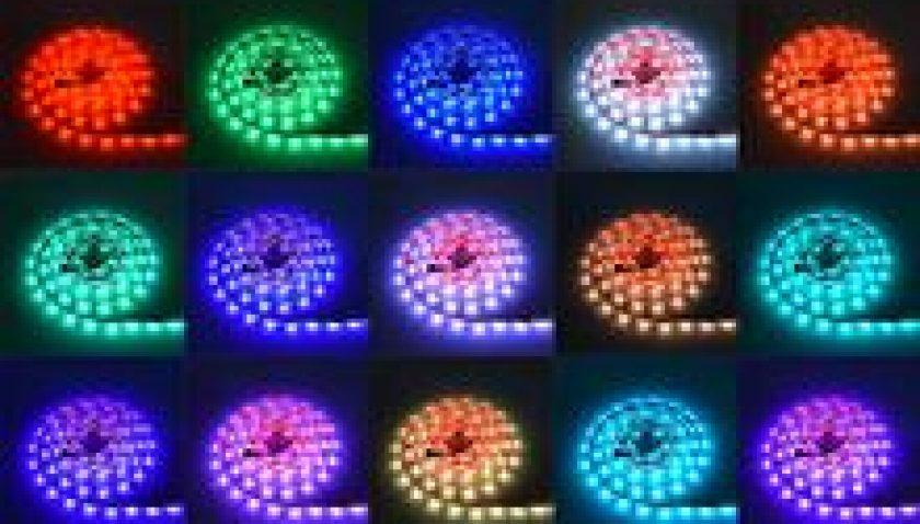 10% Discount for 12V-5050 RGB 44 Keys 5 Meters 150 Lights (24W) Light Belt Epoxy Waterproof Version