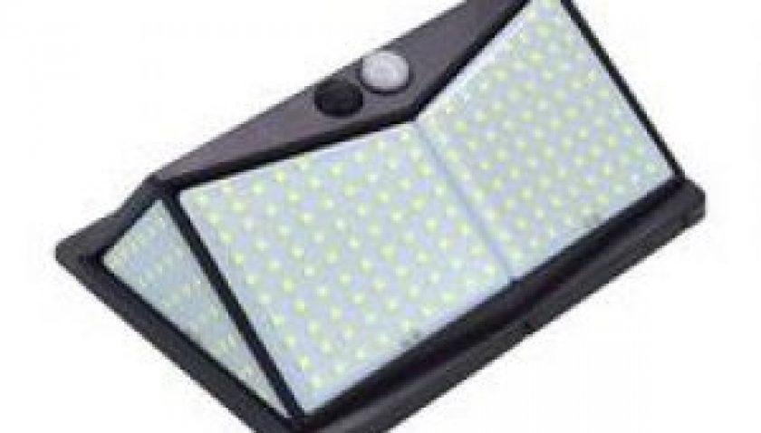 10% Discount for 208 LED Solar Power Light PIR Motion Sensor Security