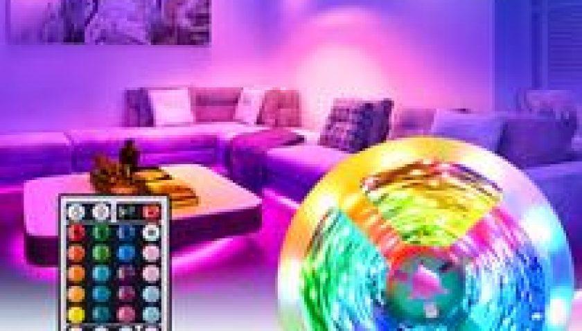 10% Discount for 12V-5050 Lamp Beads RGB 44 Keys 10 Meters 300 Lights (40W) Light Strip Double Disc White Light Panel