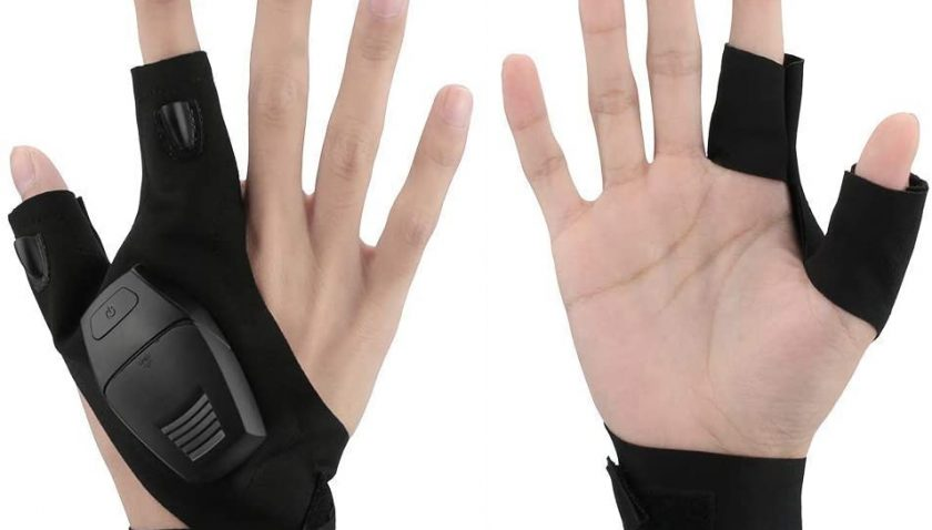 30% Discount for WIOR LED Flashlights Gloves
