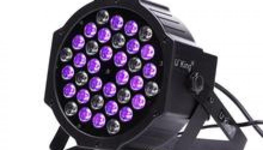 10% Discount for 36 LEDs Purple Light DJ Disco KTV PUB LED Effect Light 72W