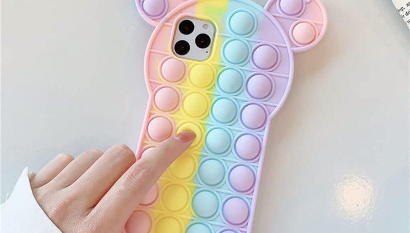 50% Discount for Push Pop Fidget Phone Case