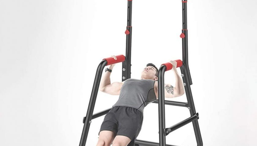 80% Discount for Mr.Tool Adjustable Chin Up Stand Pull Up Bar Dip Power Tower Home Gym Fitness Workout, Ready Stock Fast from Our US Warehouse