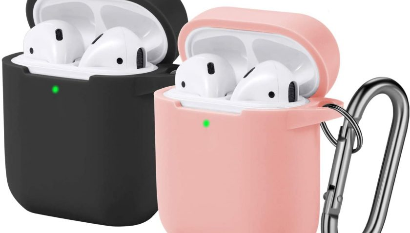 50% Discount for Funbiz Designed for Airpods Case Cute Silicone Cover with Keychain for Girls Boys