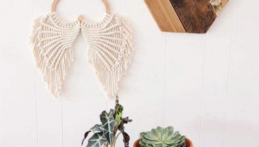 50% Discount for Suntq Handmade Decorations Natural Cotton Bohemia Macrame Cord DIY Wall Hanging Plant Hanger Craft Making Knitting Rope Natural Color Macrame Cord