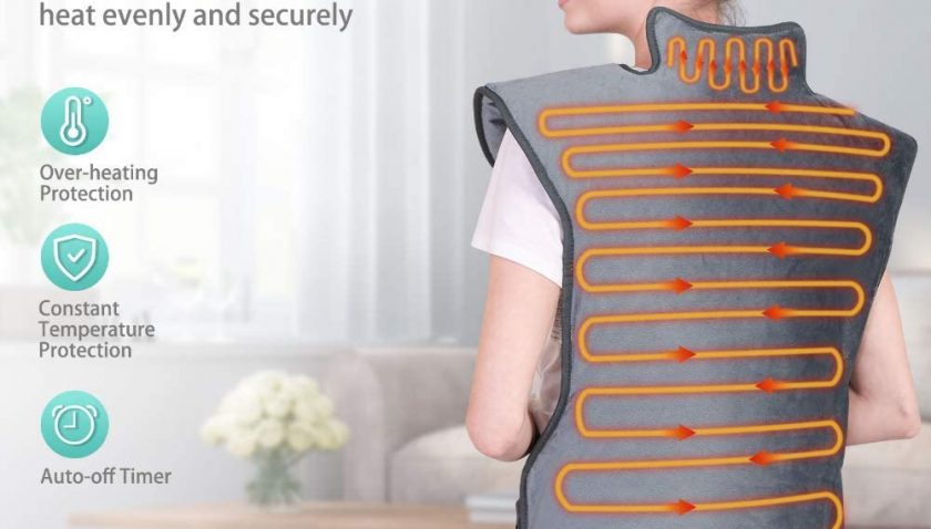 50% Discount for WELTEAYO Heating Pad for Back Pain Relief