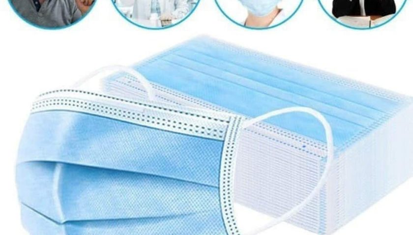 50% Discount for Disposable Face Masks