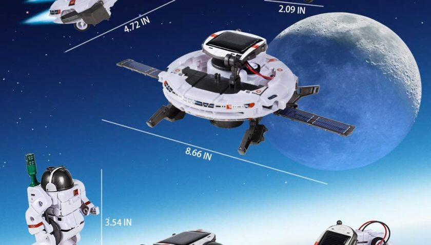 50% Discount for STEM Toys 6-in-1 Space Solar Robot Kit