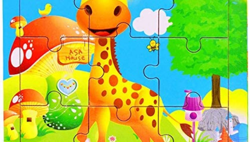 50% Discount for 9 Pieces Wooden Jigsaw Puzzles Preschool Educational Toys