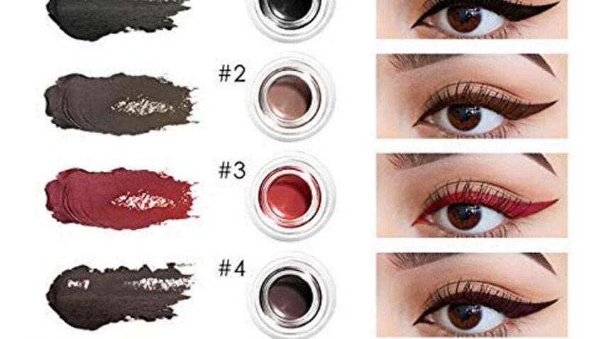 51% Discount for FOCALLURE 2Pcs Waterproof Lasting Gel Eyeliner Blackest Infallible Lacquer Natural Infallible Eye Makeup