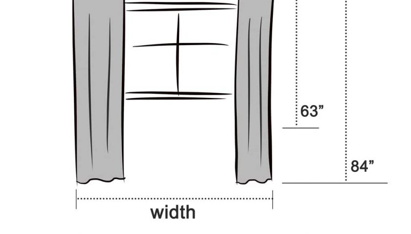 50% Discount for LA PALMA Thermal Insulated Blackout Darkening Grommet Living Room Curtains Window Drapes for Bedroom 2 Panels in 1 Set 52 Inches Wide (Black, W52 xL63)