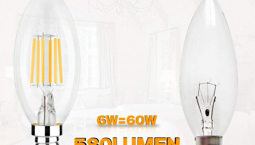 50% Discount for E12 LED Bulb Dimmable Candelabra Bulbs