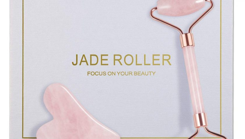 51% Discount for Jade Roller, Natural Rose Quartz Roller and Gua Sha