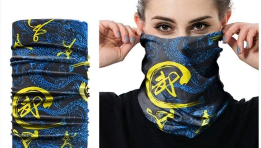 50% Discount for 7pcs Magic Face Scarf Neck Gaiter Bandanas for Men Women