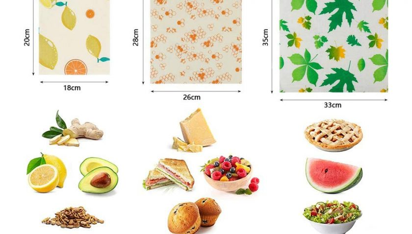 50% Discount for Beeswax Food Wraps 6 Pack