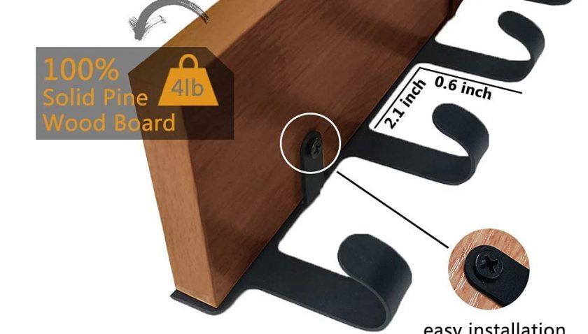 50% Dissount for Homentum Coat Rack with Shelf,Coat Hooks
