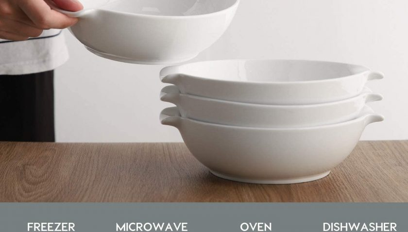 50% Discount for SAMSLE Serving Bowls,33 Ounces Big Salad Bowls