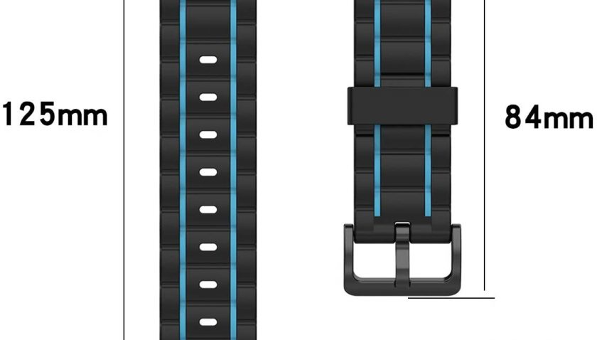 50% Discount for Huadea Band Compatible with Samsung Galaxy Watch 3 45mm / Gear S3 Frontier/Galaxy Watch 46mm / Gear S3 Classic, Soft Silicone 22mm Sport Strap