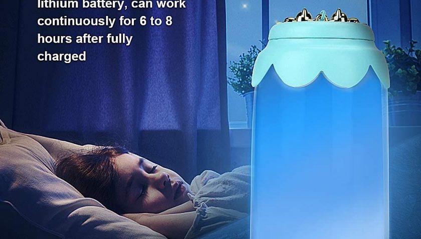 50% Discount for welltop Luminous Bottle Night Light, Eye Protection Dimmable Night Light