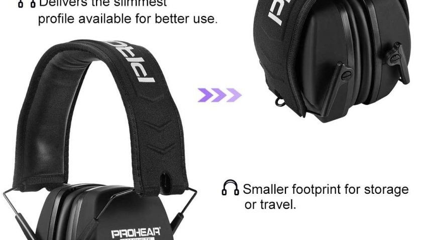 50% Discount for PROHEAR 016 Ear Protection Safety Earmuffs for Shooting
