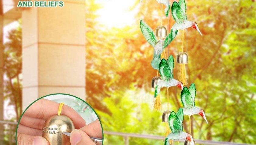 30% Discount for Jhua Wind Chime Solar Wind Chimes for Outside