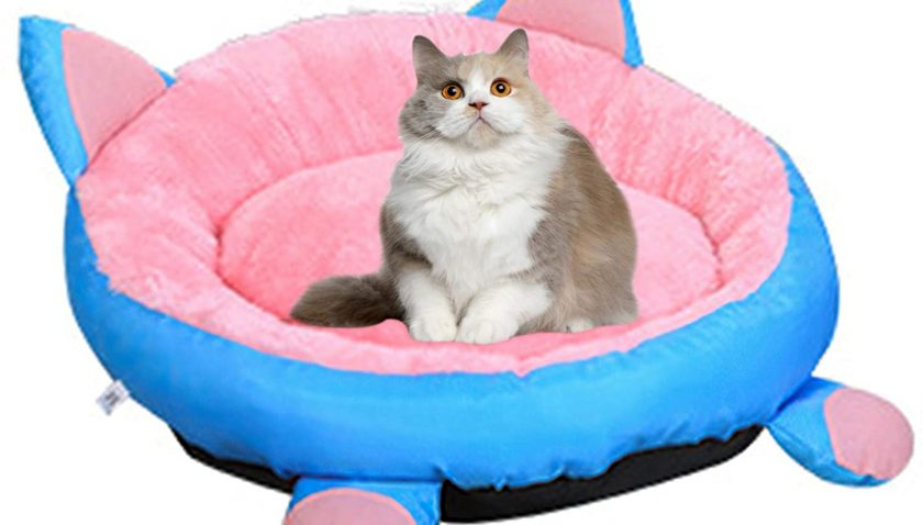50% Discount for HelloCreate Pet Bed, Cat Bed Round Washable Pet Bed