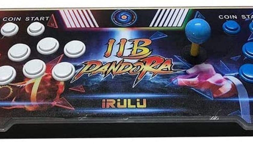 50% Discount for iRULU Arcade Machine,Family Game Console