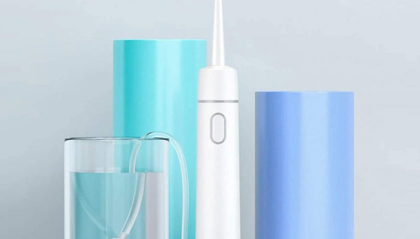 50% Discount for Portable Tankless Water Flosser for Teeth Professional Cordless Dental Flosser Rechargeable Waterproof 2 Modes High-frequency Pulsation Dental Oral Irrigator for Home&Travel