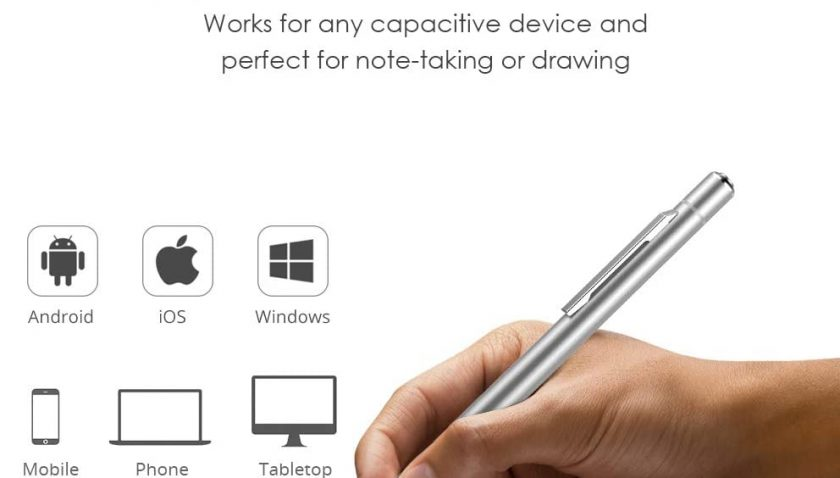 50% Discount for Stylus Pens for Touch Screens,1.45 mm Fine Point Stylus with Magnetic Charging Station