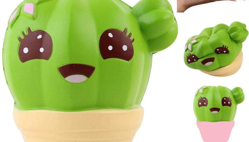80% Discount for Kawaii Cute Cactus Slow Rising Toy Cream Scented Soft Collectible, Stress Reliever Toys
