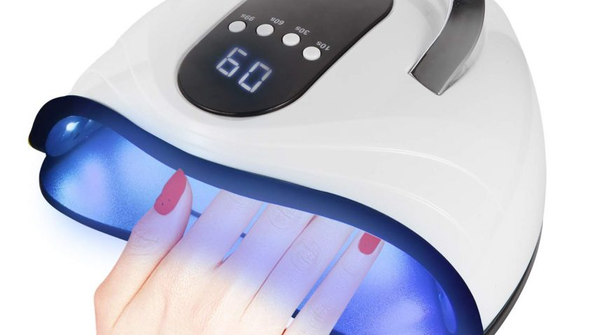 50% Discount for UV LED Nail Lamp 120W High Power Nail Dryer for Gel Nail Polish with 4 Timer Setting 42 gel Light