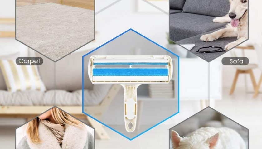 70% Discount for ERKOON Reusable Pet Hair Remover Roller, Pet Grooming Glove, Mini Cleaning Brush