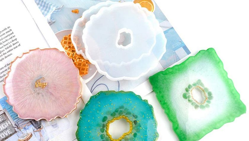 50% Discount for 3 PCS Coaster Resin Molds