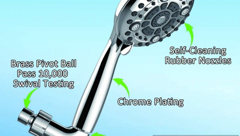 50% Discount for IHAO High Pressure Handheld ShowerHead