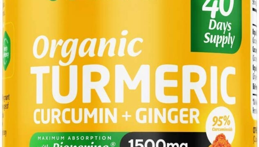 50% Discount for Wellixir Organic Turmeric Supplement