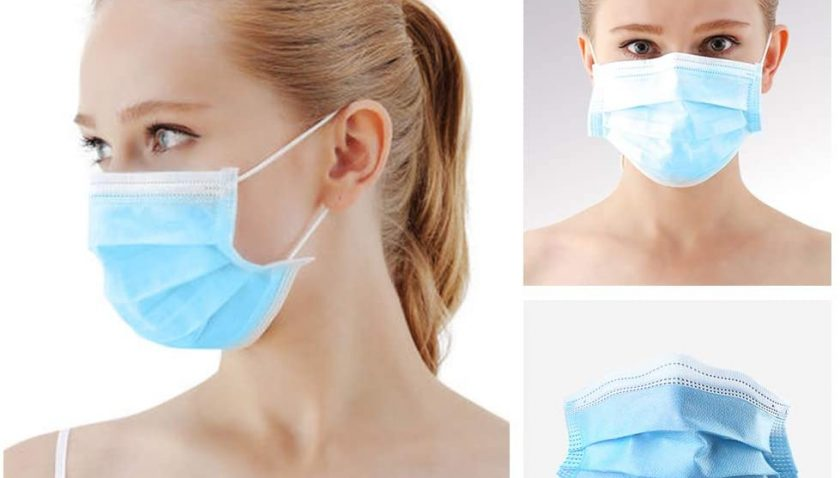 60% Discount for Decdeal 50pcs Face Cover Disposable Dustproof Mouth Cover