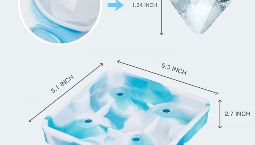 70% Discount for KOIOS Ice Cube Trays, Ice Cubes Silicone Molds with Lids