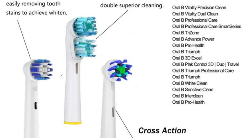 50% Discount for Replacement Brush Heads Compatible with Oral B Braun