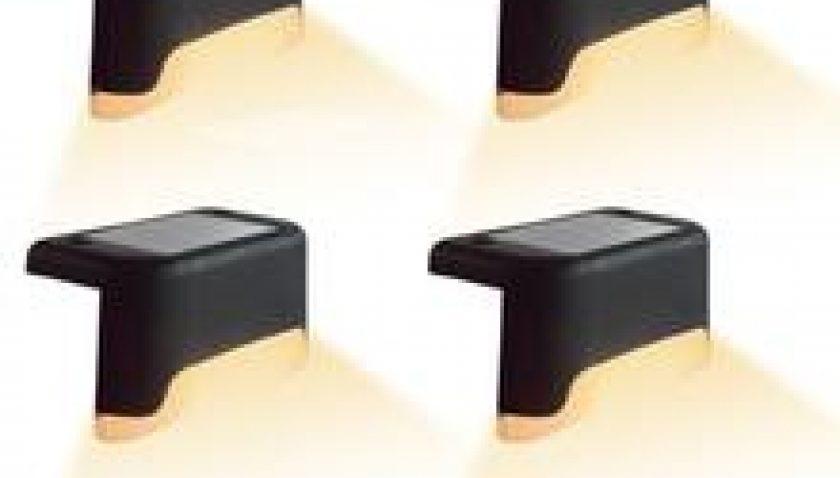 10% Discount for 4X Black Solar Step Light