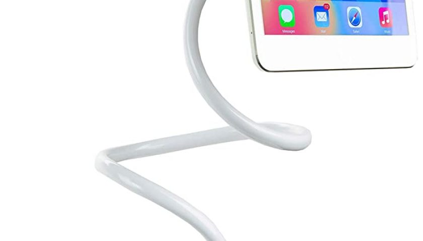 """50% Discount for Aedericoe Phone Tablet Holder for Bed Adjustable Gooseneck Phone Tablet Stand Long Arm Bracket for 4.7-8"""" Devices"""