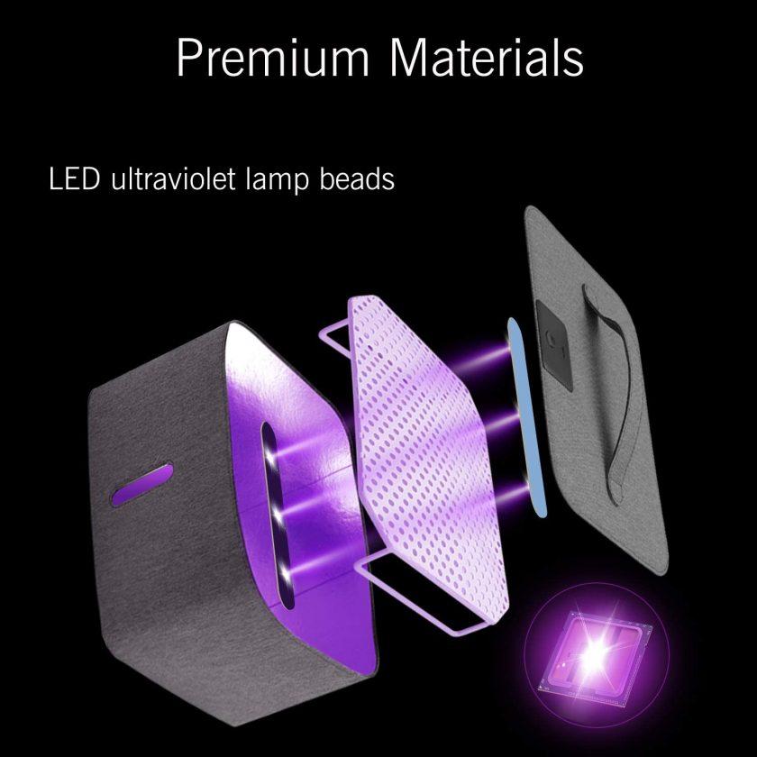 50% off USB LED UV Sterilizer Box Cabinet