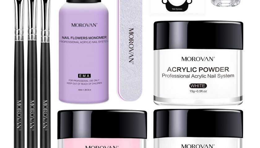 45%off Morovan Acrylic Nail Kit Acrylic Powder and Professional Liquid Monomer set with