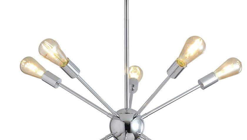50% Discount for Modern Creative Sputnik Chandelier, American Style Mid Century Pendant Lighting Industrial