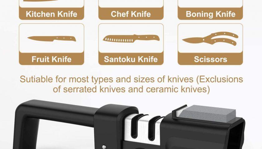 50% Discount for Kitchen Knife Sharpener
